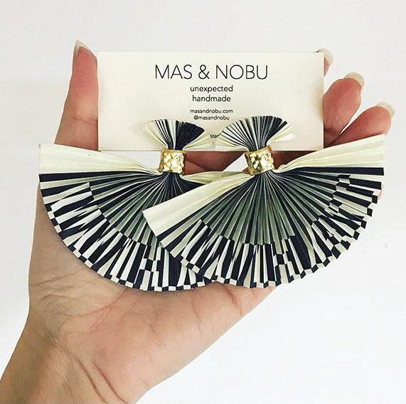 Mas & Nobu Earings