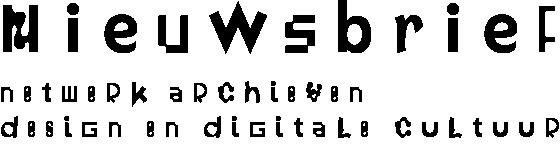 Nieuwsbrief Archieven Design en Digitale Cultuur