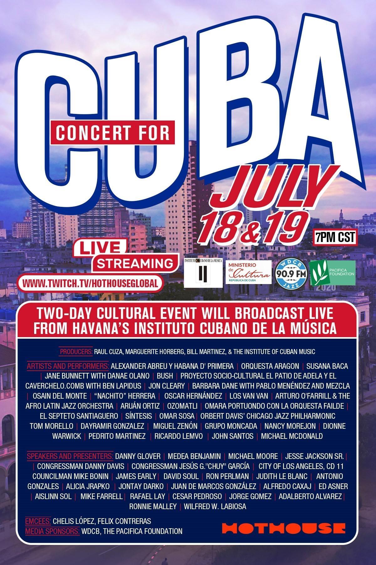Concert for Cuba