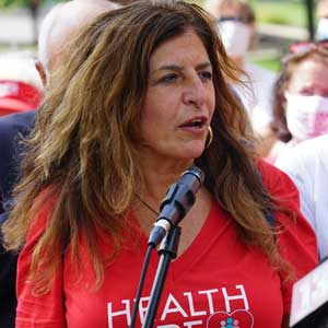 Judy Sheridan González - President, New York State Nurses Association, Emergency Room Nurse on the Front-Lines Fighting COVID-19.