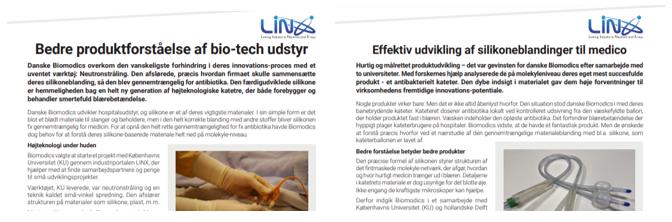 LINX Biomodics cases