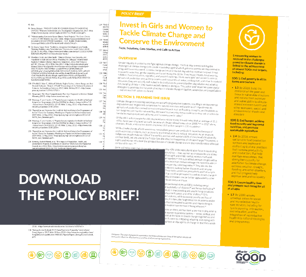 Climate Change Policy Brief