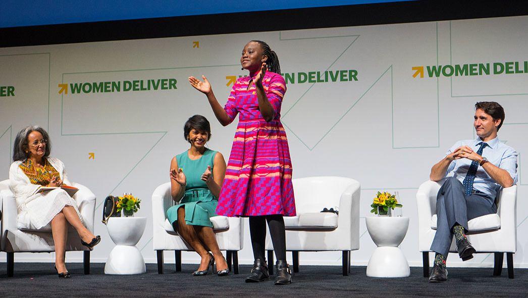 Women Deliver Young Leader Natasha Mwansa