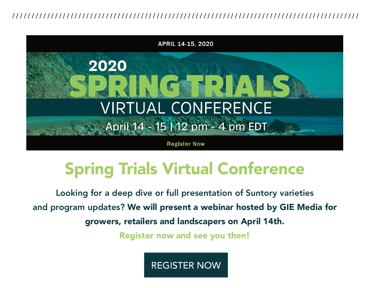 Register for the Spring Trials Virtual Conference
