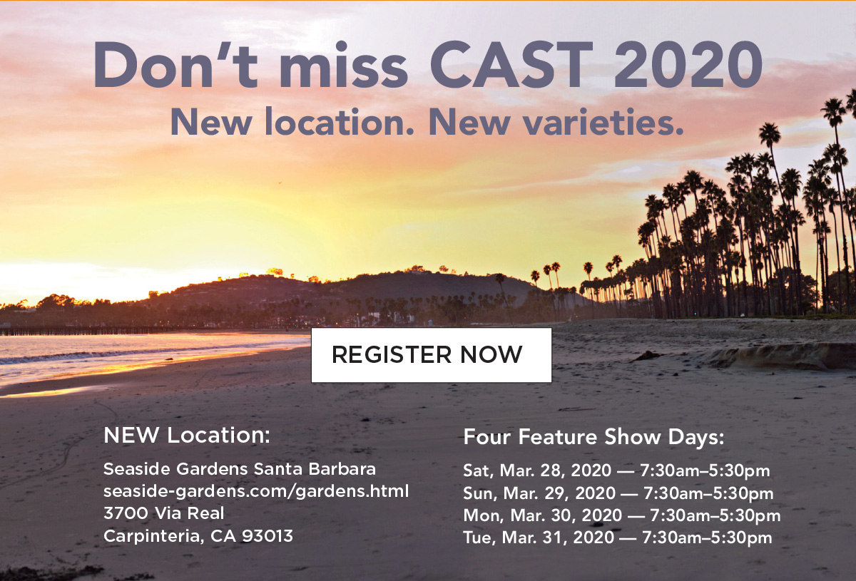 Register for CAST 2020
