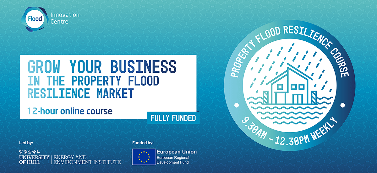 Grow your business in the property flood resilience market