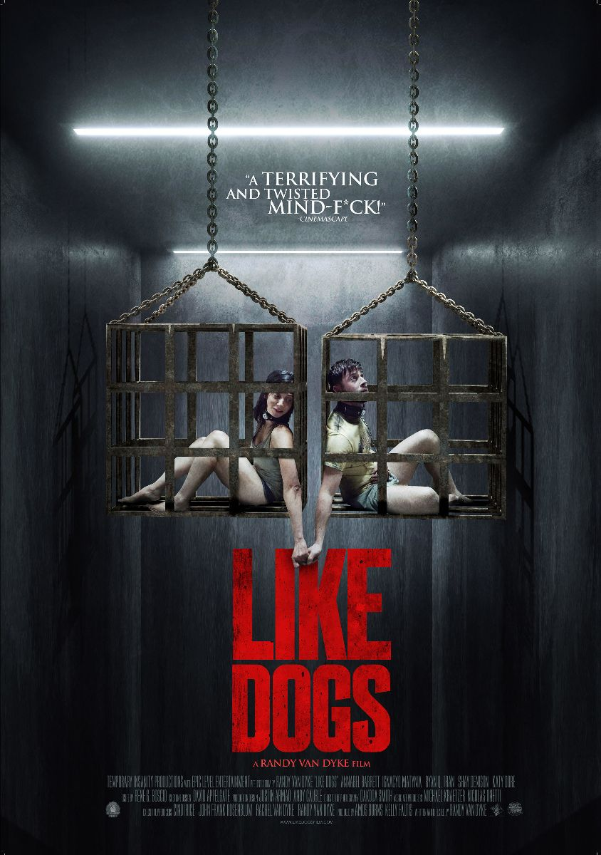 """LIKE DOGS"" 😱🔒/ Trailer and Official Posters Revealed"