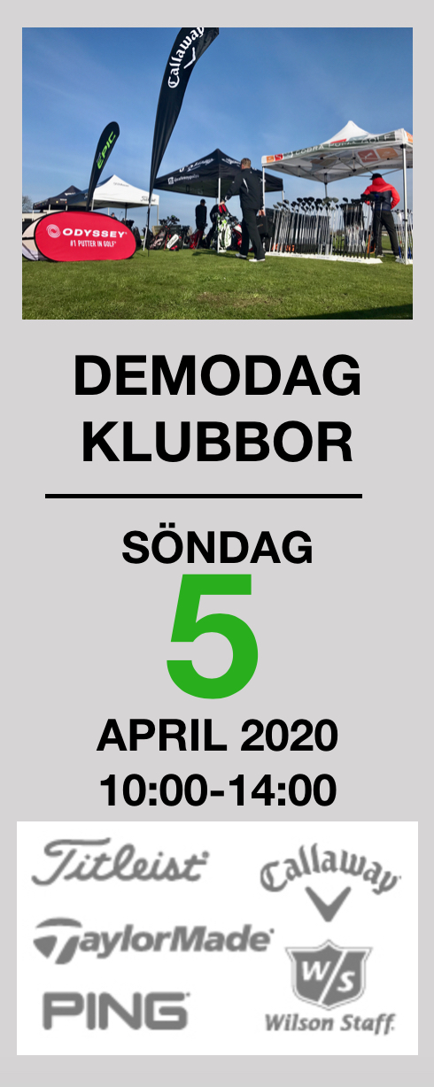 Demodag klubbor 5 april