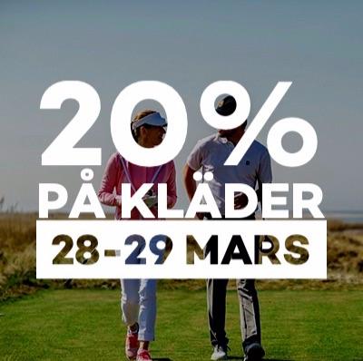 Kläder 20% 28-29 mars