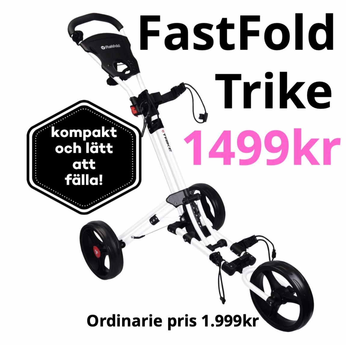 Kampanj Fast Fold Trike vagn