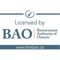 Kitchener Cemeteries is licensed by the Bereavement Authority of Ontario(BAO)