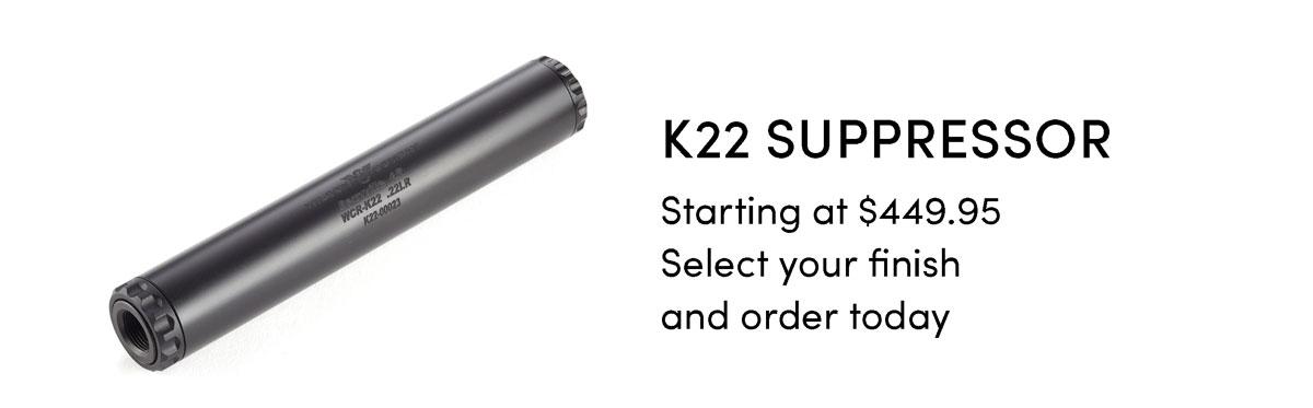 k22 Suppressor
