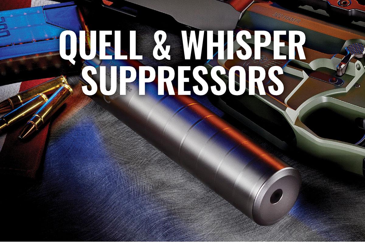 Quell & Whisper Suppressors