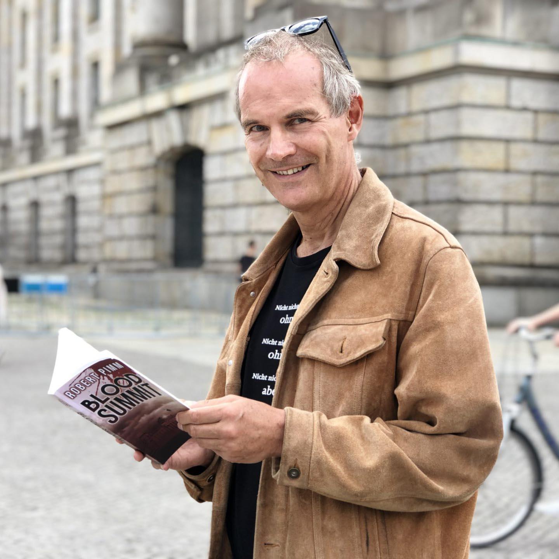 The author Robert Pimm