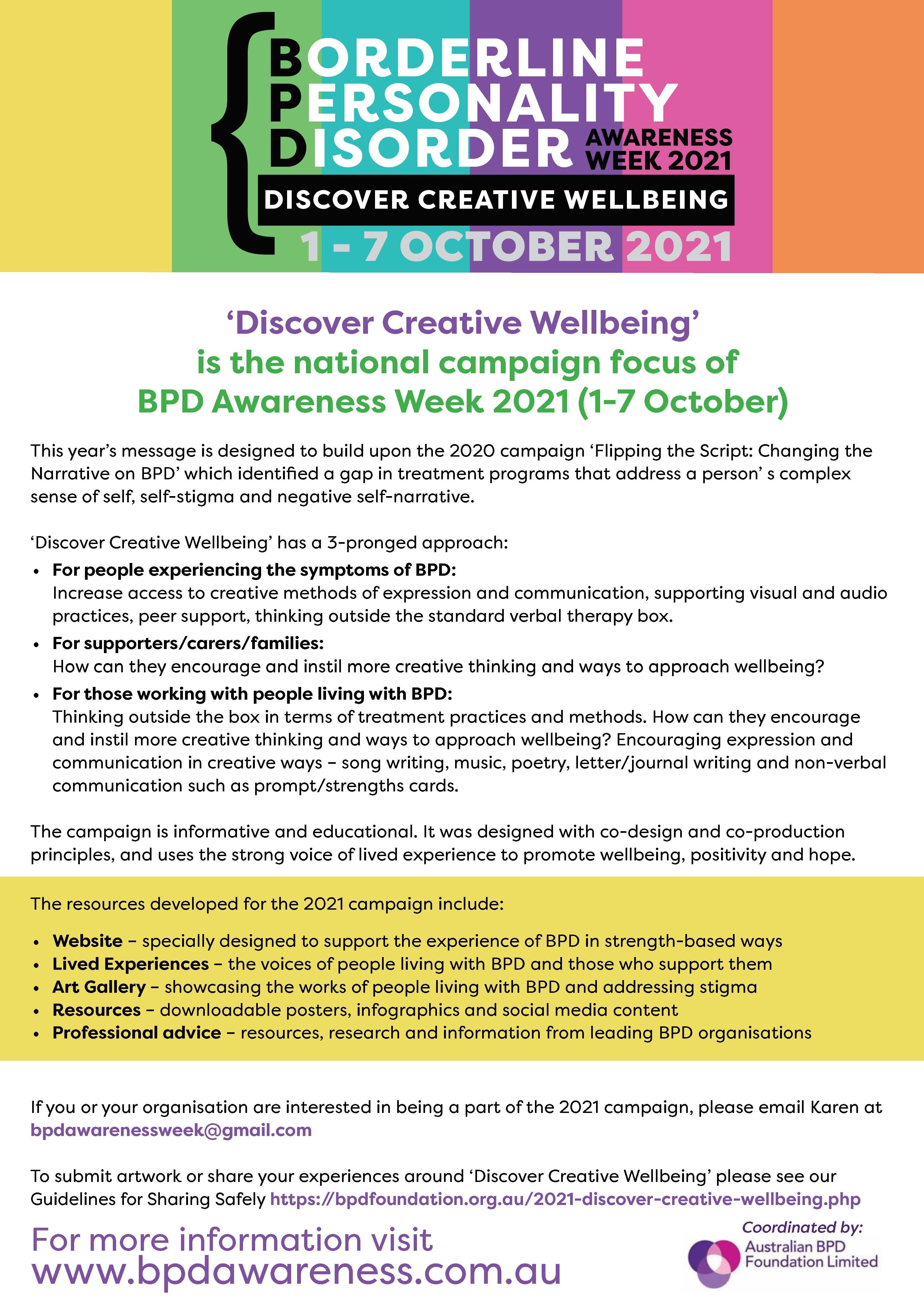 BPDAW info poster