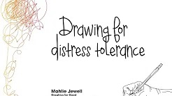 Drawing for distress tolerance