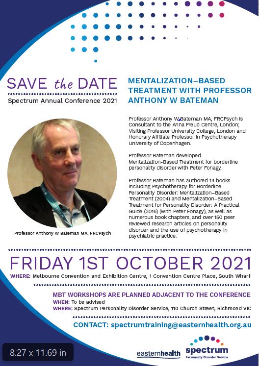 Spectrum Conference flyer