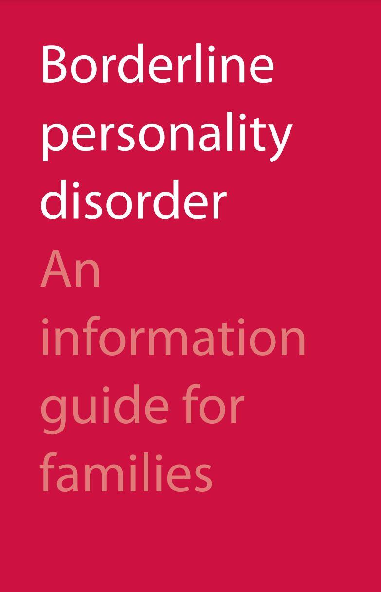 BPD Info guide for families