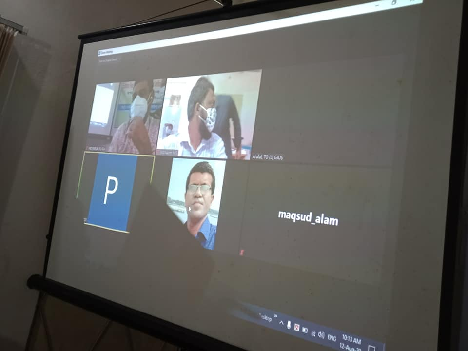 Virtual meeting on Zoom