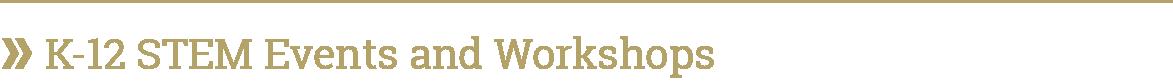 Image - K-12 STEM Events and Workshops