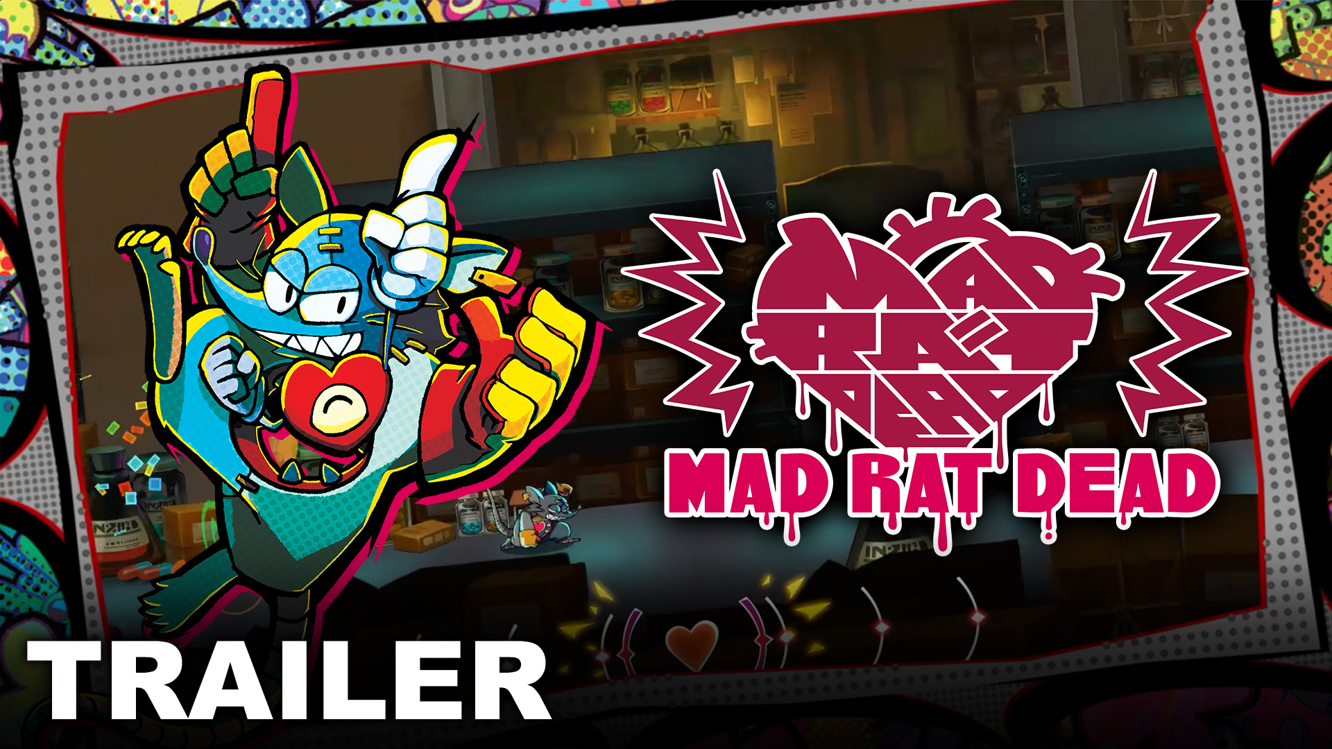 Mad Rat Dead drops the beat in new gameplay trailer!
