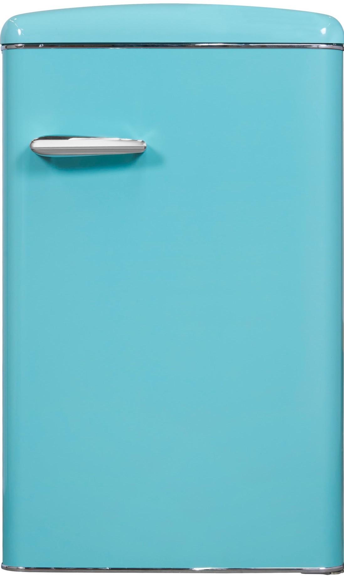 Retrostyle Kühlschrank türkisblau