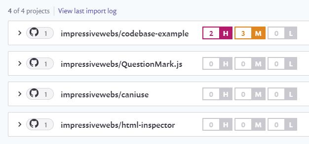 Snyk easily integrates with GitHub