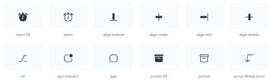 Bootstrap Icons
