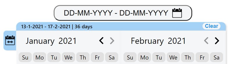 date-range-picker