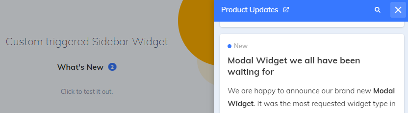 AnnounceKit's Sidebar Widget
