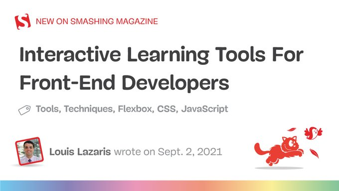 Interactive Learning Tools for Front-end Developers