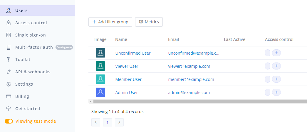 Single-sign On (SSO) options with Userfront