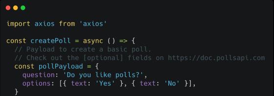 Polls API