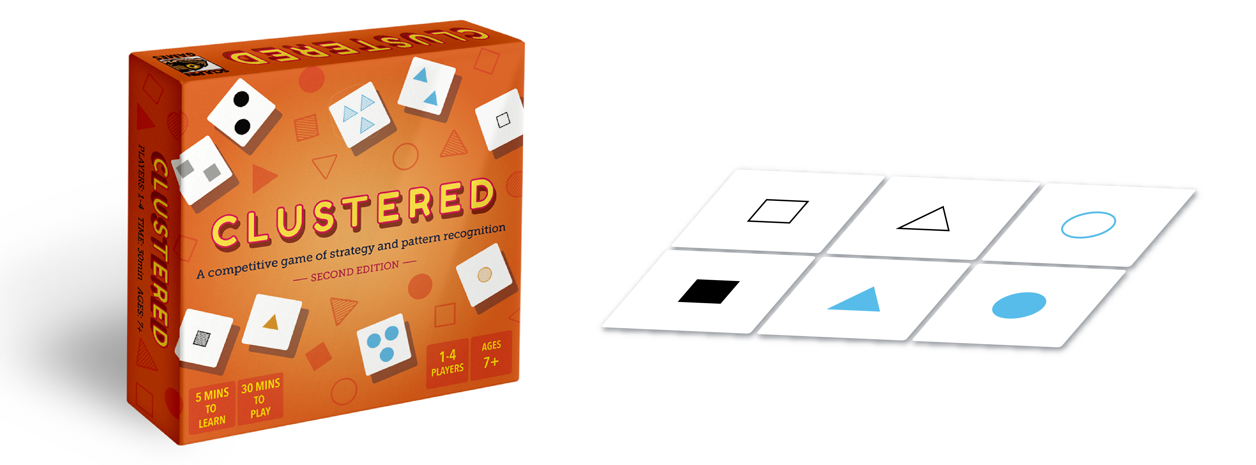 Clustered is an easy-to-learn strategy card game that is fun for the whole family!