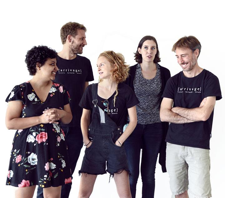 équipe startup arrivage team