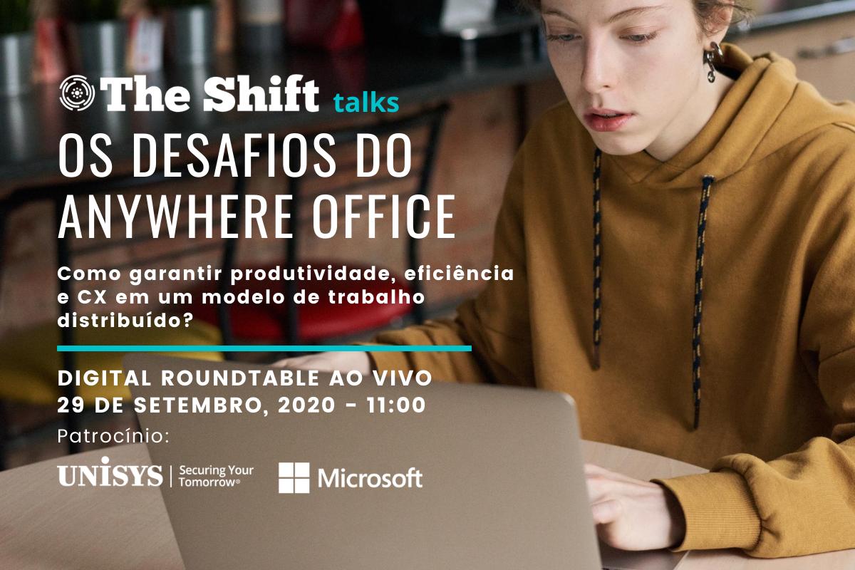 WEBINAR AO VIVO - O FUTURO DO DIGITAL WORKPLACE