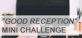Good Reception Mini Challenge