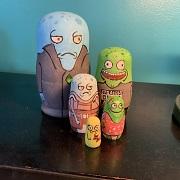 Solar Opposites figurines