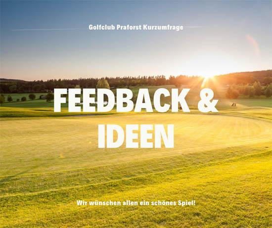 Feedback und Ideen an Golfclub Hofgut Praforst senden
