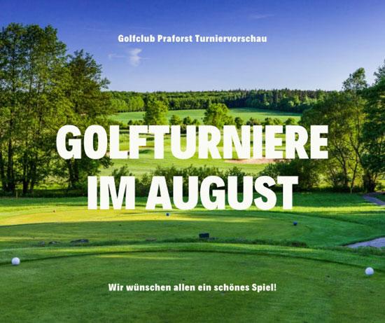 Wettspielkalender Vorschau August