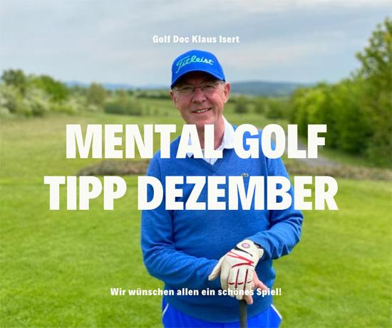 Golfclub Praforst Mental Tipp Dezember