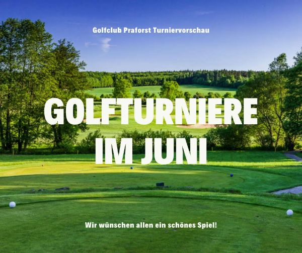 Golfclub Praforst Wettspielkalender ansehen