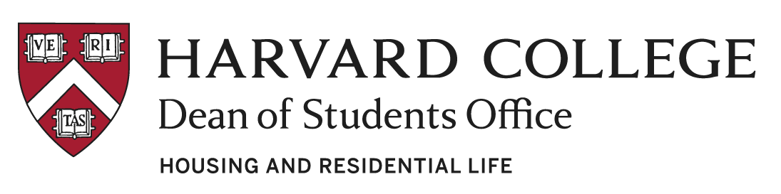 Harvard College Dean of Students Office Housing and Residential Life
