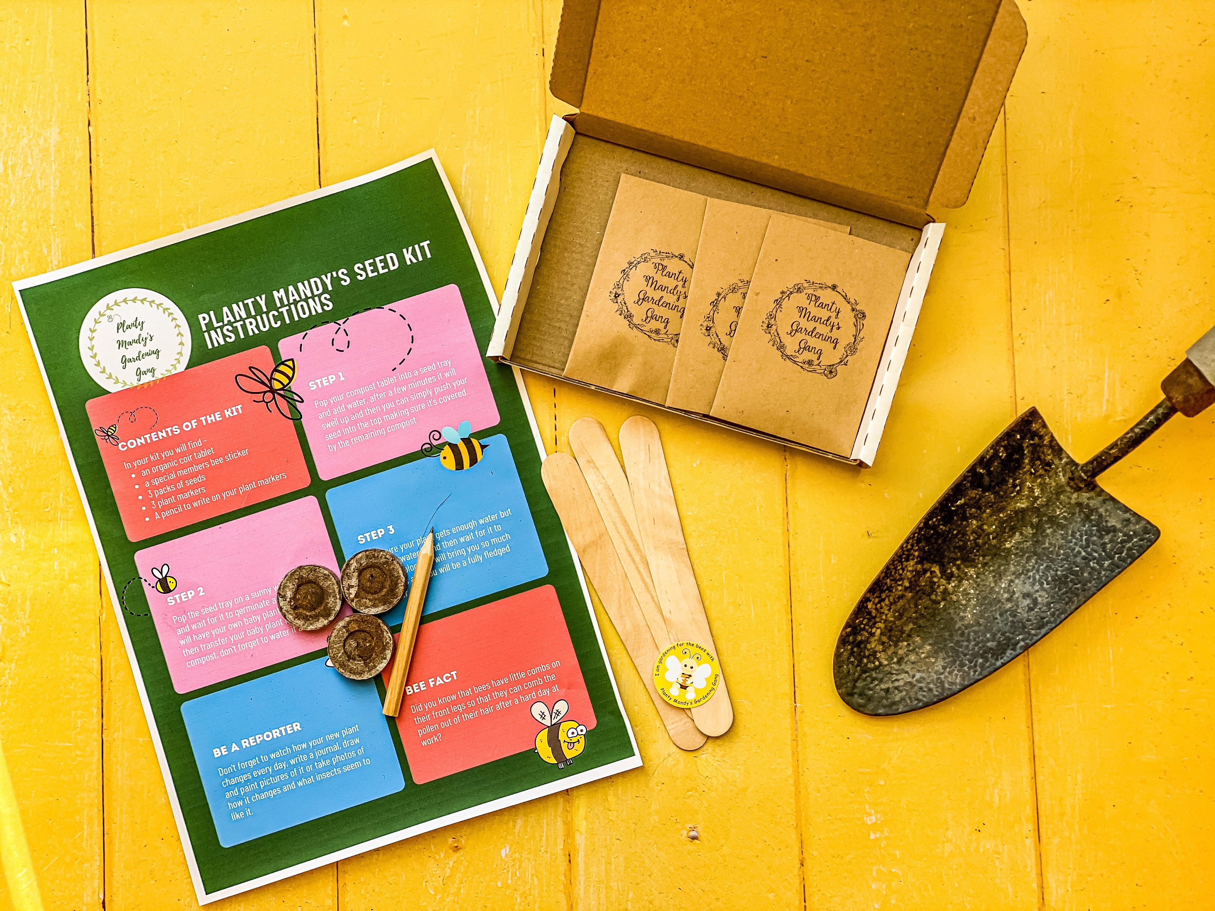 Planty Mandy's Seed Box