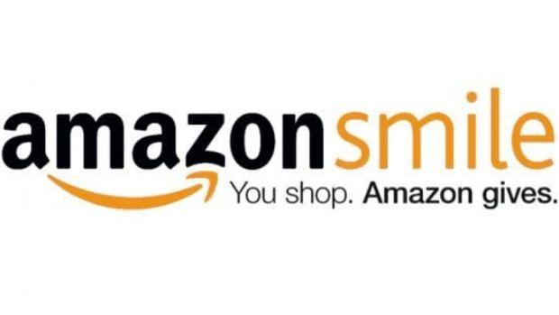 The logo of Amazon Smile
