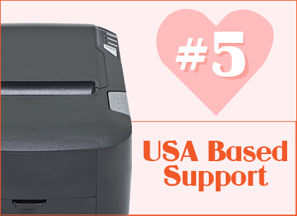 USA Based Support Printer