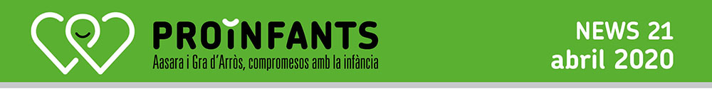 Newsletter abril PROiNFANTS 2020