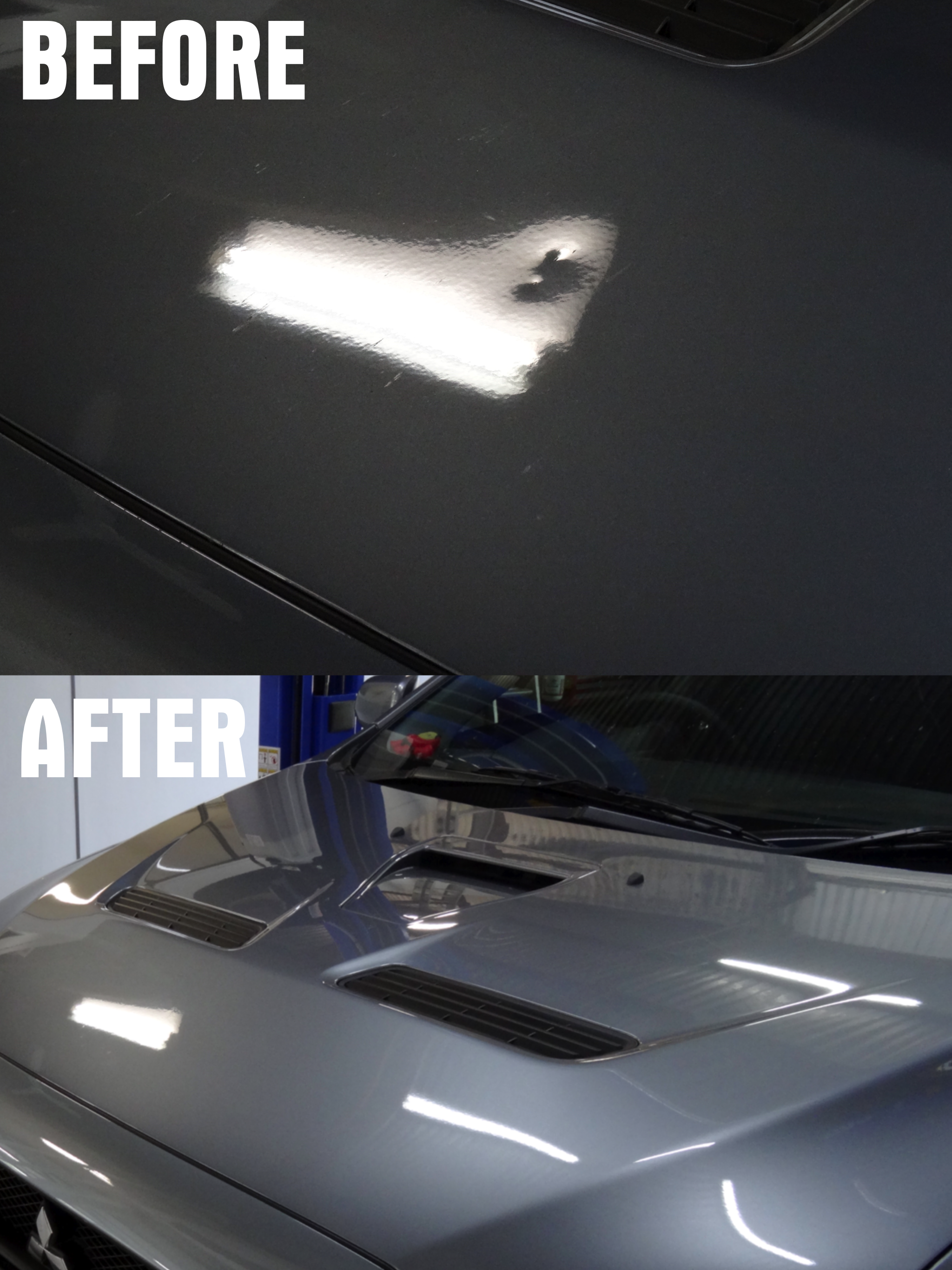 Paintless dent repair paintless dent removal dent removal cooroy Queensland Noosa car restoration ford falcon classic car vintage car XR xt xw xy xa xb xc final detail final assembly touch ups parking dents shopping trolley dents  Paintless dent repair before and after