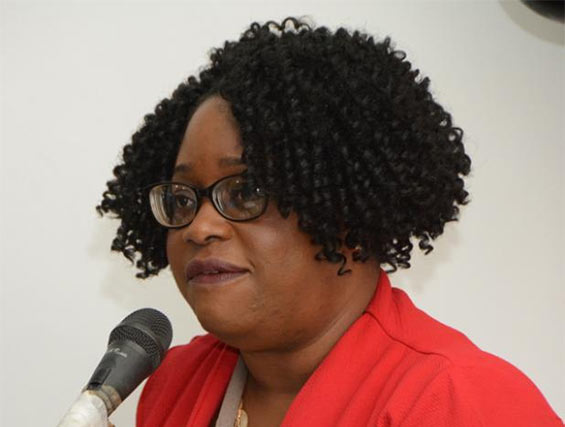President of the Diabetes Association of Barbados, Trudy Griffith