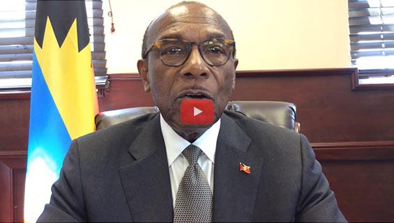 Hon. Molwyn JosephHealth Minister of Antigua and Barbuda